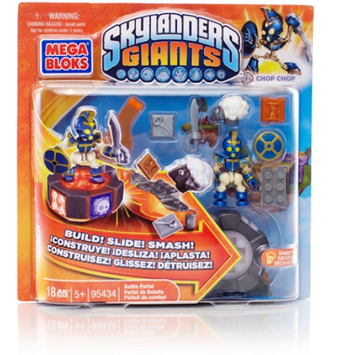 Skylanders GIANTS Mega Bloks Chop Chop's Battle Portal Series 1 is an officially licensed, authentic Skylanders GIANTS Mega Bloks product at B.A. Toys featuring Chop Chop's Battle Portal Series 1 by Skylanders GIANTS Mega Bloks
