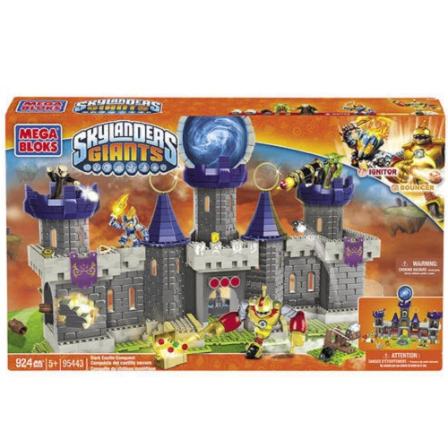 Skylanders GIANTS Mega Bloks Dark Castle Conquest officially licensed Skylanders GIANTS Mega Bloks product at B.A. Toys.