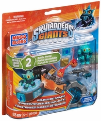 Skylanders GIANTS Mega Bloks Gill Grunt's Battle Portal [Water] Series 2 officially licensed Skylanders GIANTS Mega Bloks product at B.A. Toys.