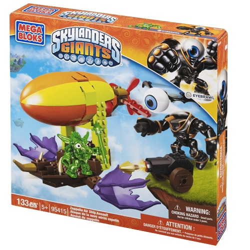 Skylanders GIANTS Mega Bloks Zepplin Air Ship Assault [Eye Brawl - Undead Giant] officially licensed Skylanders GIANTS Mega Bloks product at B.A. Toys.