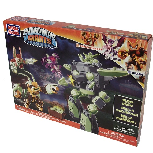 Skylanders GIANTS Mega Bloks Exclusive Swarm Mech Invasion officially licensed Skylanders GIANTS Mega Bloks product at B.A. Toys.