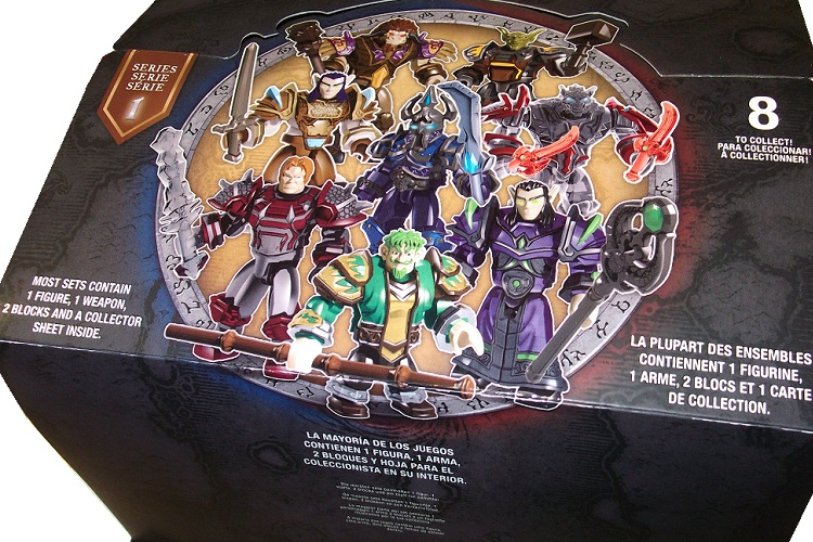 Warcraft Mega Bloks Series ONE Factory Sealed Case is an officially licensed, authentic Warcraft Mega Bloks product at B.A. Toys featuring Series ONE Factory Sealed Case by Warcraft Mega Bloks