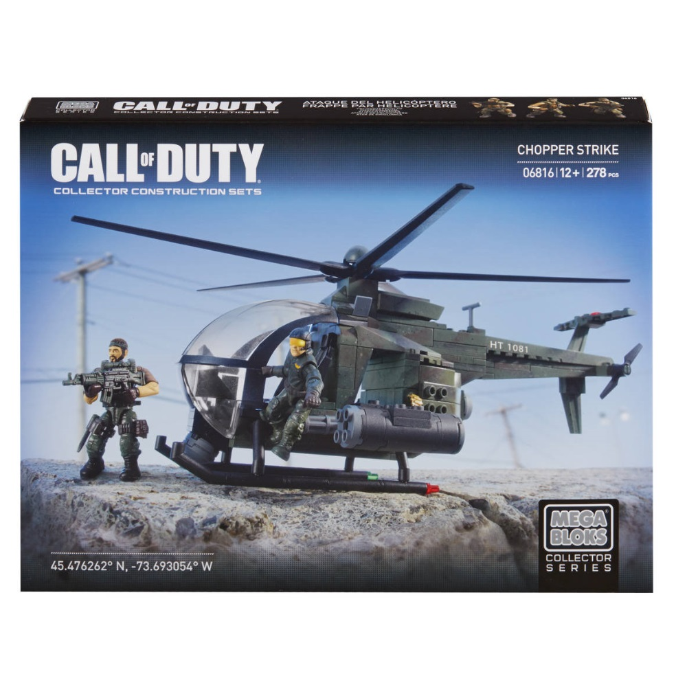 Mega Bloks Call of Duty Chopper Strike [COD Gunship]