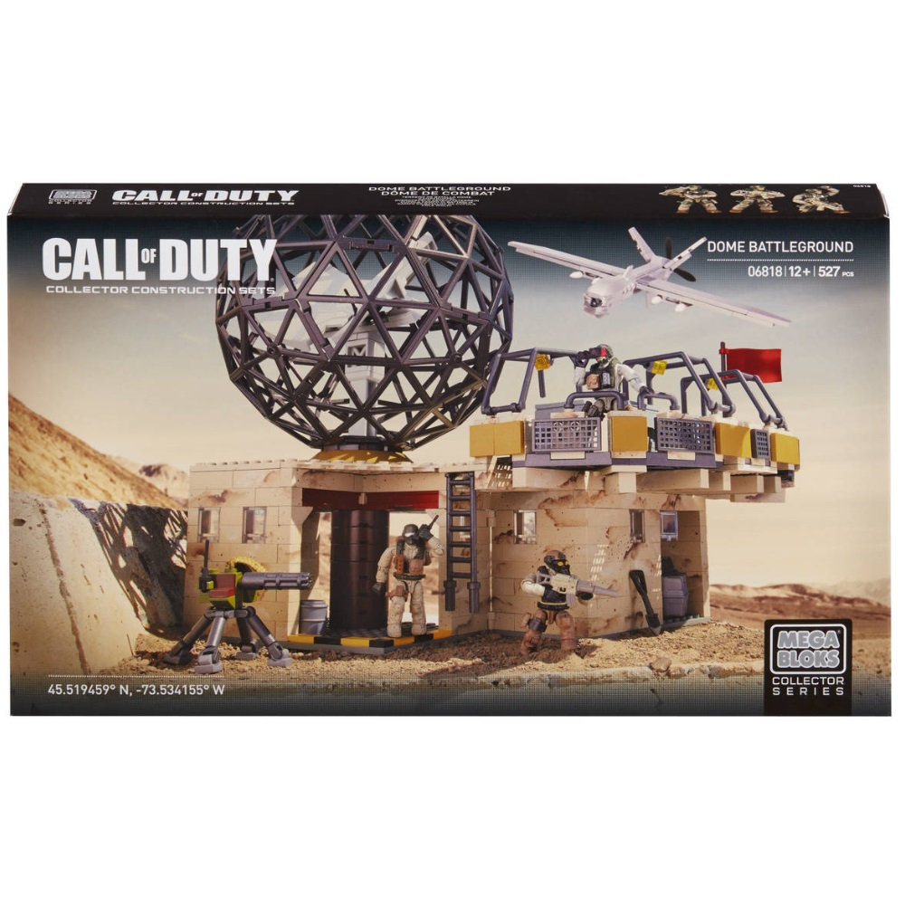 Mega Bloks Call of Duty Dome Battleground [Capture Flag] is an officially licensed, authentic Mega Bloks Call of Duty product at B.A. Toys featuring Dome Battleground [Capture Flag] by Mega Bloks Call of Duty