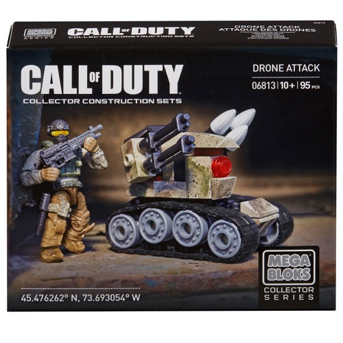 Mega Bloks Call of Duty COD Set 6813 features building block brick figures and accessories from Call of Duty, Lego & BrickArms compatible