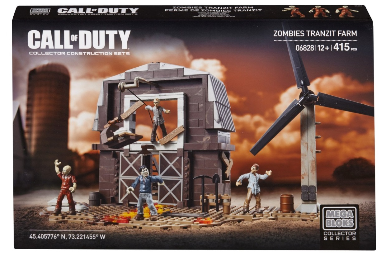 Mega Bloks Call of Duty Zombies TranZit Farm [COD Zombies] is an officially licensed, authentic Mega Bloks Call of Duty product at B.A. Toys featuring Zombies TranZit Farm [COD Zombies] by Mega Bloks Call of Duty