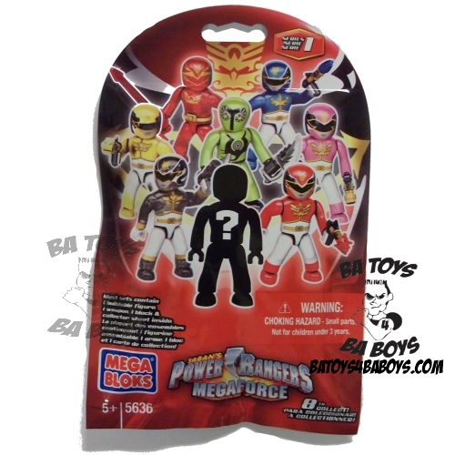 Mega Bloks Power Rangers MegaForce PRMF Mystery Pack M.A.F [Series 1] officially licensed Mega Bloks Power Rangers MegaForce product at B.A. Toys.