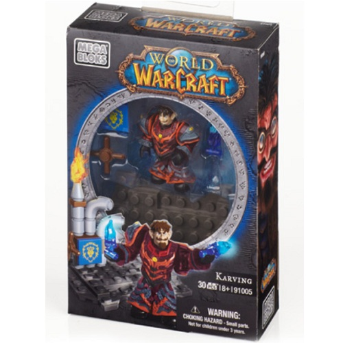 Warcraft Mega Bloks Faction Pack II Gnome Warlock: Karving [Alliance] is an officially licensed, authentic Warcraft Mega Bloks product at B.A. Toys featuring Faction Pack II Gnome Warlock: Karving [Alliance] by Warcraft Mega Bloks