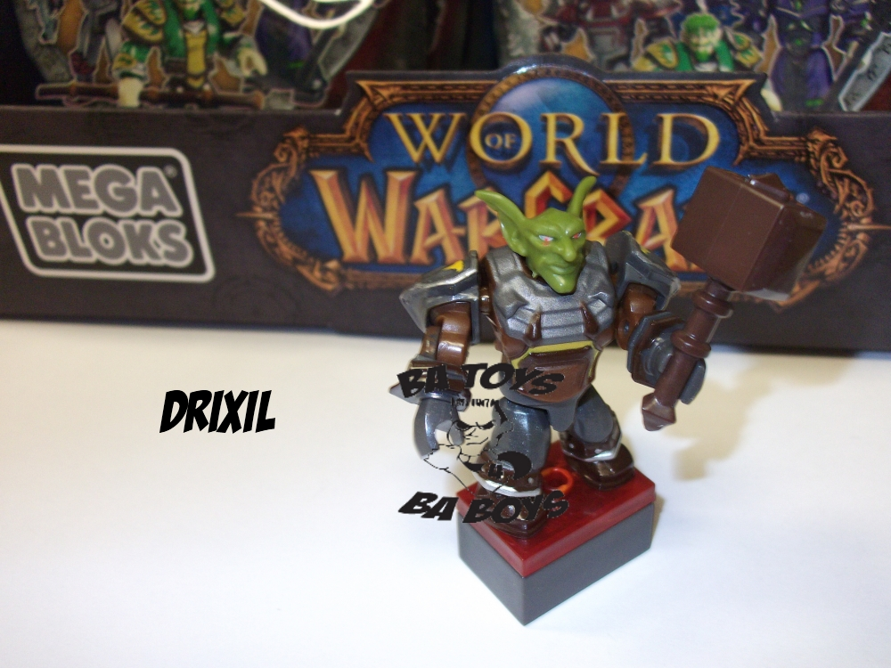 Warcraft Mega Bloks Drixil Minifigure is an officially licensed, authentic Warcraft Mega Bloks product at B.A. Toys featuring Drixil Minifigure by Warcraft Mega Bloks