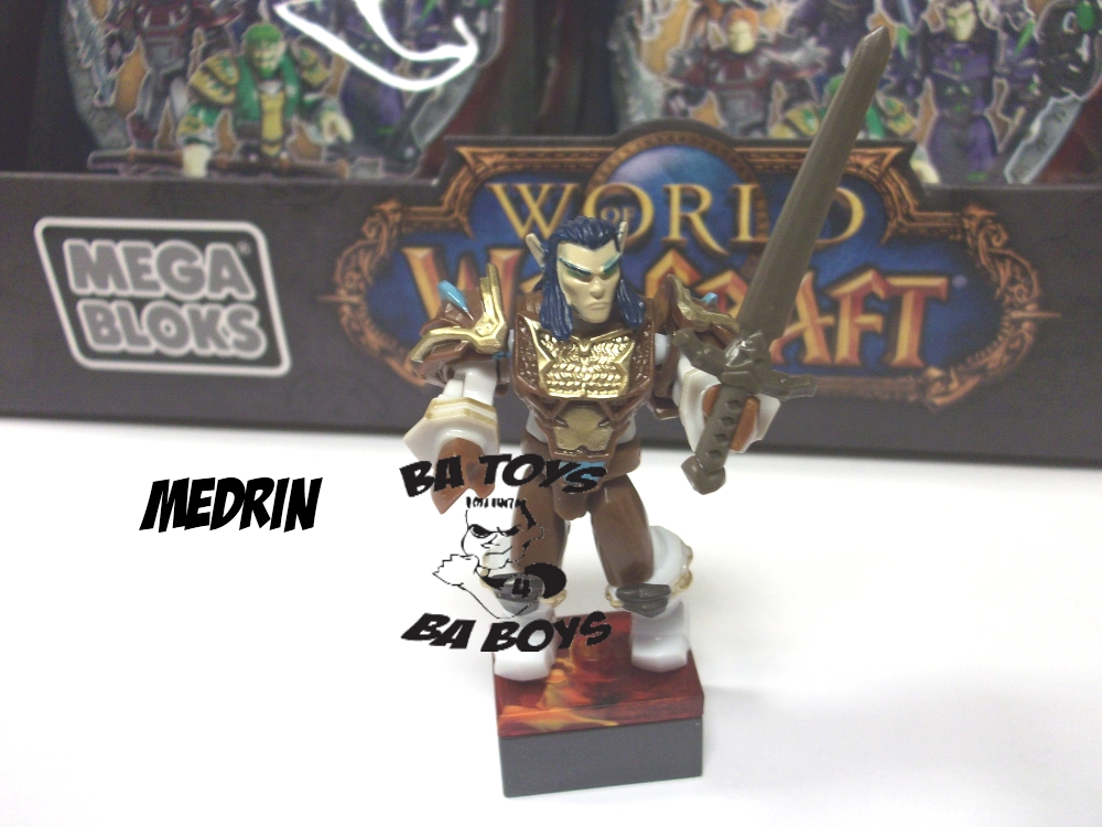 Warcraft Mega Bloks Medrin M.A.F. Minifigure [EPIC / RARE] is an officially licensed, authentic Warcraft Mega Bloks product at B.A. Toys featuring Medrin M.A.F. Minifigure [EPIC / RARE] by Warcraft Mega Bloks