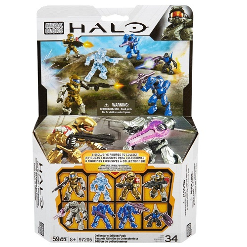 Mega Bloks Halo Collector's Edition Pack officially licensed Mega Bloks Halo product at B.A. Toys.