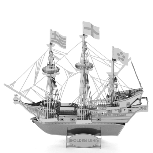 Metal Earth Golden Hind Special Order Ships 2-4 Weeks officially licensed Metal Earth product at B.A. Toys.