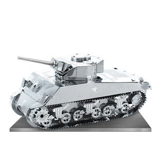 Metal Earth Sherman Tank Special Order Ships 2-4 Weeks officially licensed Metal Earth product at B.A. Toys.