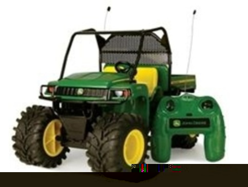 ERTL Monster Treads John Deere R/C JD Gator 1:8 Scale
