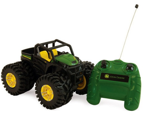 ERTL Monster Treads RC John Deere RSX R/C Gator officially licensed ERTL Monster Treads RC product at B.A. Toys.