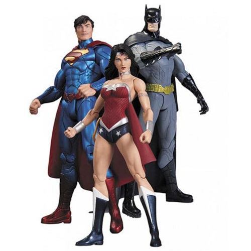 Justice League New 52 Trinity War Action Figure Box Set is an officially licensed, authentic Justice League product at B.A. Toys featuring New 52 Trinity War Action Figure Box Set by Justice League