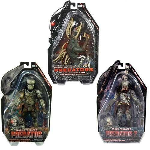 Predator Series 3 Set [Classic Masked, Hound & Elder] officially licensed Predator product at B.A. Toys.