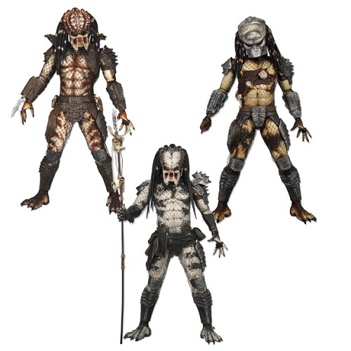 Predator Series 4 Predator 2 Action Figures City Hunter, Shaman & Boar [Set of 3] officially licensed Predator product at B.A. Toys.