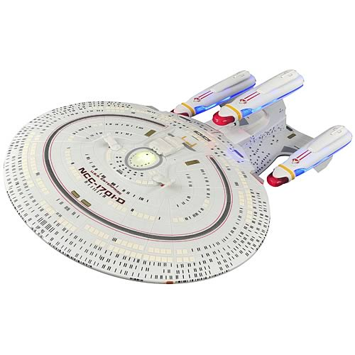 Diamond Select Star Trek All Good Things USS Enterprise D Ship officially licensed Diamond Select Star Trek product at B.A. Toys.