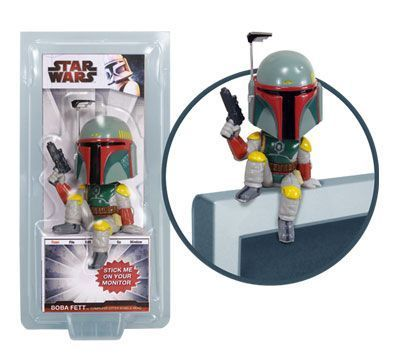 Funko Star Wars Boba Fett Computer Sitter Bobble Head officially licensed Funko Star Wars product at B.A. Toys.