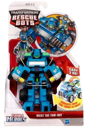 Transformers Rescue Bots Hoist the Tow Bot officially licensed Transformers Rescue Bots product at B.A. Toys.