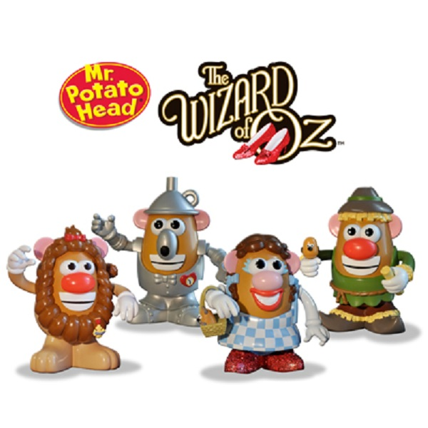 Mr. Potato Head Wizard of Oz Dorothy and Friends Boxed Set officially licensed Mr. Potato Head product at B.A. Toys.