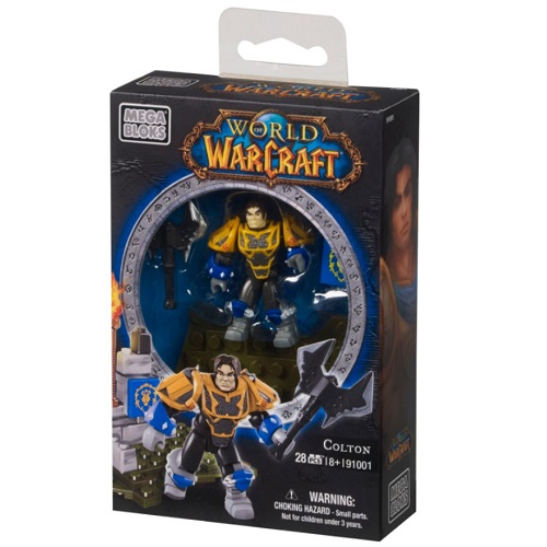 Warcraft Mega Bloks Paladin Colton Faction Pack is an officially licensed, authentic Warcraft Mega Bloks product at B.A. Toys featuring Paladin Colton Faction Pack by Warcraft Mega Bloks