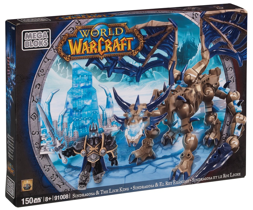 Warcraft Mega Bloks Sindragosa & The Lich King is an officially licensed, authentic Warcraft Mega Bloks product at B.A. Toys featuring Sindragosa & The Lich King by Warcraft Mega Bloks