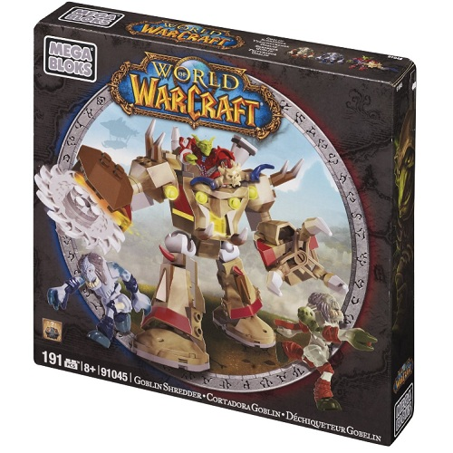 Warcraft Mega Bloks Goblin Schreder is an officially licensed, authentic Warcraft Mega Bloks product at B.A. Toys featuring Goblin Schreder by Warcraft Mega Bloks