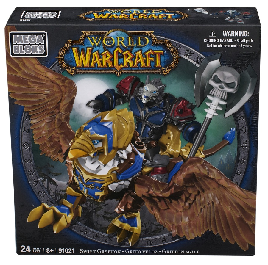 Warcraft Mega Bloks Worgen Death Knight with Swift Gryphon is an officially licensed, authentic Warcraft Mega Bloks product at B.A. Toys featuring Worgen Death Knight with Swift Gryphon by Warcraft Mega Bloks