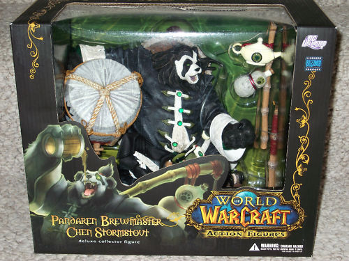 DC Direct World of Warcraft Limited Edition Pandaren Brewmaster Chen Stormstout officially licensed DC Direct World of Warcraft Limited Edition product at B.A. Toys.