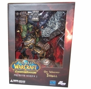 DC Direct World of Warcraft Premium Orc Warchief Thrall officially licensed DC Direct World of Warcraft Premium product at B.A. Toys.