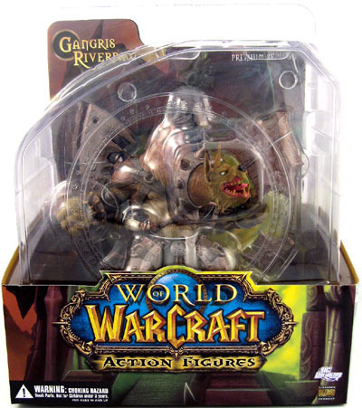 DC Direct World of Warcraft Gnoll Warlord: Gangris Riverpaw officially licensed DC Direct World of Warcraft product at B.A. Toys.