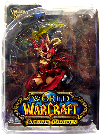 DC Direct World of Warcraft Blood Elf Rogue Valeera Sanguinar officially licensed DC Direct World of Warcraft product at B.A. Toys.