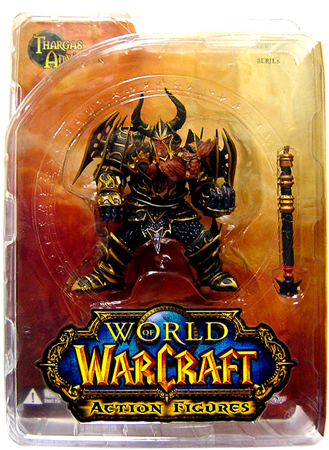 DC Direct World of Warcraft Dwarf Warrior Thargas Anvilmar officially licensed DC Direct World of Warcraft product at B.A. Toys.