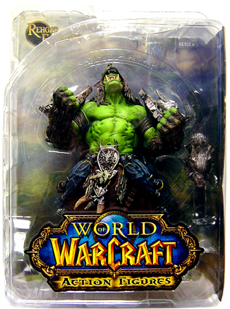 DC Direct World of Warcraft Orc Shaman Rehgar Earthfury officially licensed DC Direct World of Warcraft product at B.A. Toys.