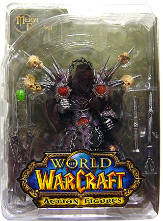 DC Direct World of Warcraft Undead Warlock Meryl Felstorm officially licensed DC Direct World of Warcraft product at B.A. Toys.