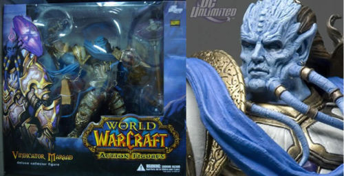 DC Direct World of Warcraft Deluxe Collector Figure Vindicator Maraad officially licensed DC Direct World of Warcraft product at B.A. Toys.