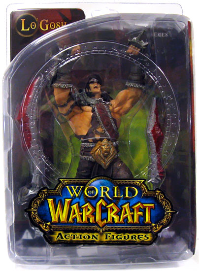 DC Direct World of Warcraft Lo Gosh-Varian Wrynn