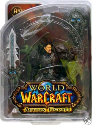 DC Direct World of Warcraft Human Warrior- Archilon Shadowheart officially licensed DC Direct World of Warcraft product at B.A. Toys.