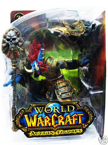 DC Direct World of Warcraft Troll Priest- Zabra Hexx officially licensed DC Direct World of Warcraft product at B.A. Toys.