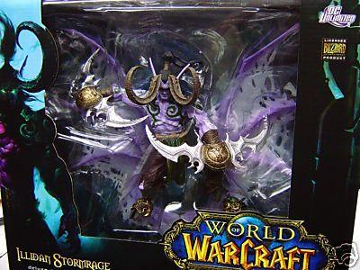 DC Direct World of Warcraft Deluxe Collector Figure Illidan Stormrage officially licensed DC Direct World of Warcraft product at B.A. Toys.